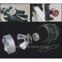 Lanterna Police 1200 W 1000 LUMENI - CREE LED XM-L T6 Acumulatori 2 x 5800 mAh