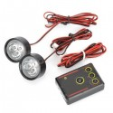 Set DRL Daytime Running Light COB -14CM 10W