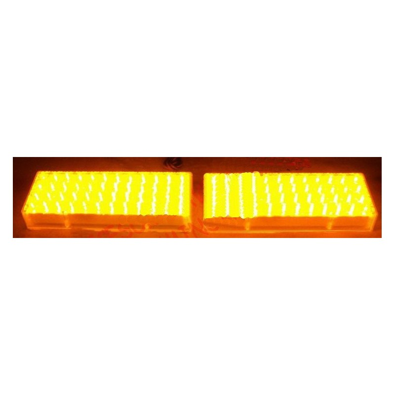 Stroboscop Auto Cu 96 LED uri Galben 24V