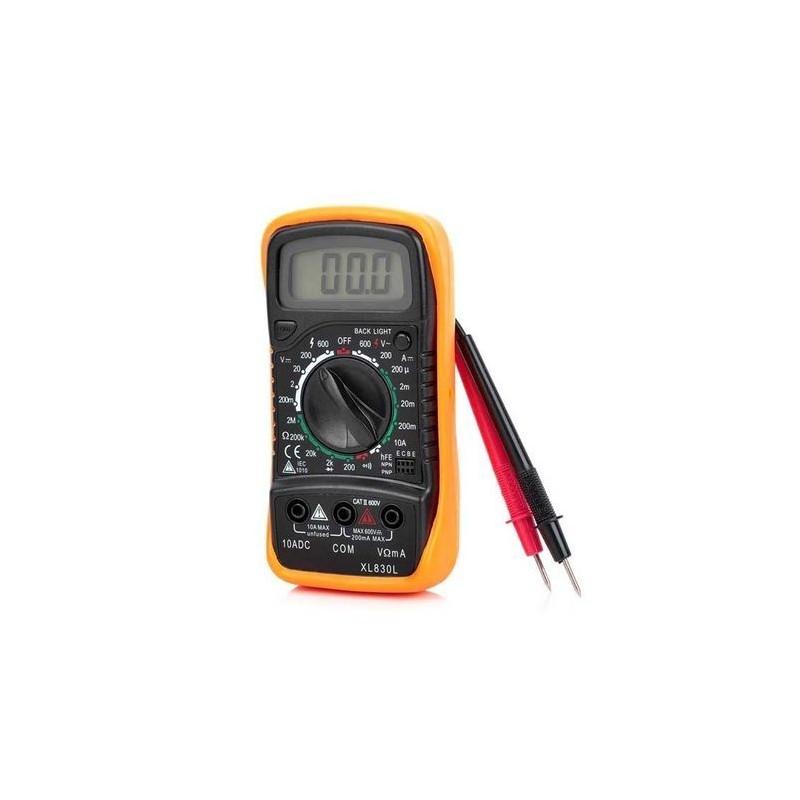 Aparat Masura Multimetru Digital Model XL 830L Cabluri Si Baterie Incluse
