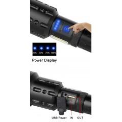 Lanterna Aluminiu Cu Led 1W Si Baterii Model PF2AA