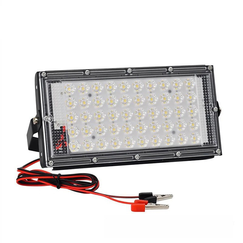 Lampa De Lucru Camping Sau Pescuit 50W LED-uri SMD Alimentare 12V