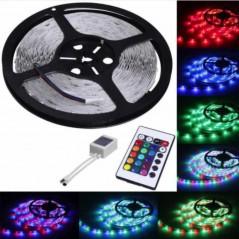 Set 2 x Proiector LED auto offroad 42W 12V-24V, 3080 lumeni, rotund