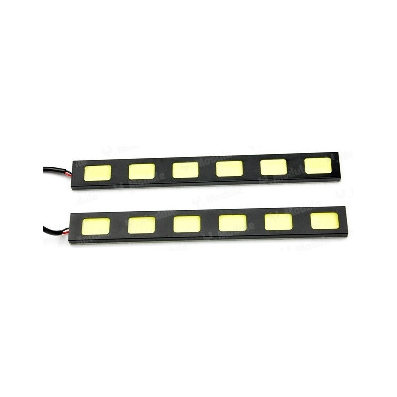 Set DRL Daytime Running Light COB -008-6 12W